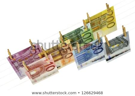 ユーロ · 絞首刑 · お金 · グループ - ストックフォト © lillo