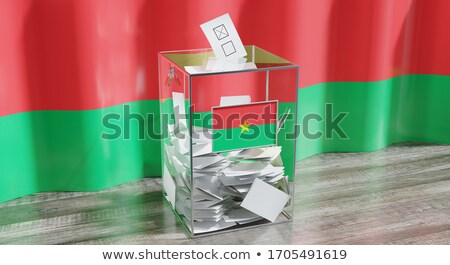 Ballot box Burkina Faso Stock photo © Ustofre9