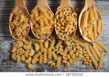 fresche · gustoso · maccheroni · servito · piatto - foto d'archivio © alekleks