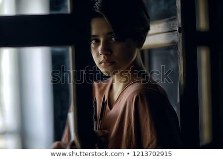 Afghan teen boy Stock photo © ivonnewierink