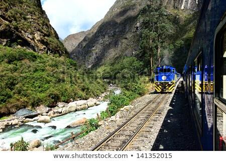 Train to Machu Picchu, Peru Stock photo © pxhidalgo