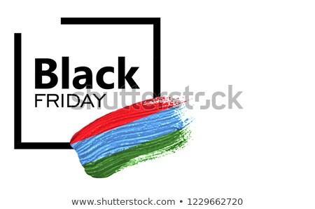 Bayrak vektör ülke Stok fotoğraf © oxygen64