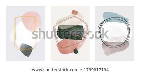 abstract watercolor art hand paint stock photo © gladiolus