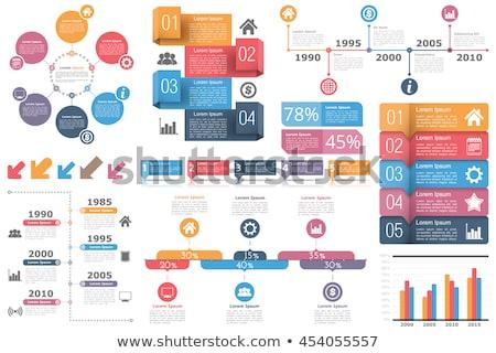 Business set fotogrammi infografica elementi icone Foto d'archivio © elenapro
