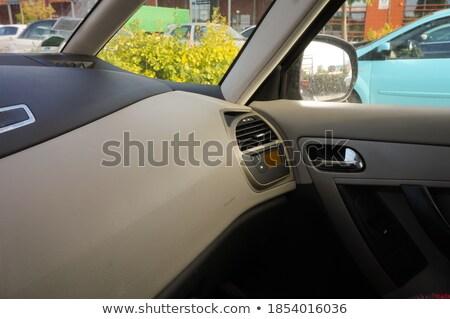 Airbag compartiment symbole voiture sécurité sûr Photo stock © stevanovicigor