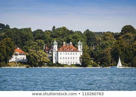 castillo · lago · imagen · cielo · casa · deporte - foto stock © w20er