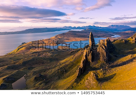 The famous Old Man of Storr Stock photo © elxeneize