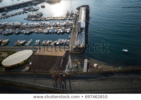 Harbor at Piano di Sorrento. Italy Stock photo © amok