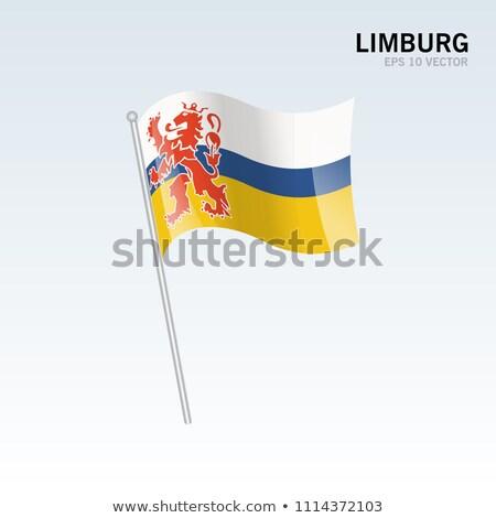 Flag Dutch Limburg Stock photo © ivonnewierink
