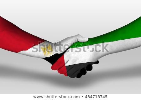 United Arab Emirates and Egypt Flags Stock photo © Istanbul2009