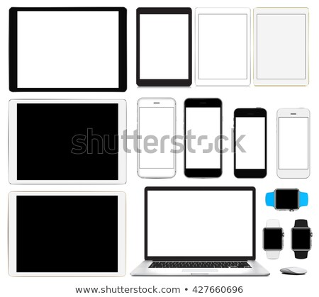 Deux différent écran numérique généré ordinateur Photo stock © georgejmclittle