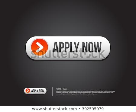 Apply Now Red Vector Icon Design Stock photo © rizwanali3d