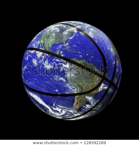 kosár · kosárlabda · világ · kedvenc · sportok · izolált - stock fotó © koufax73