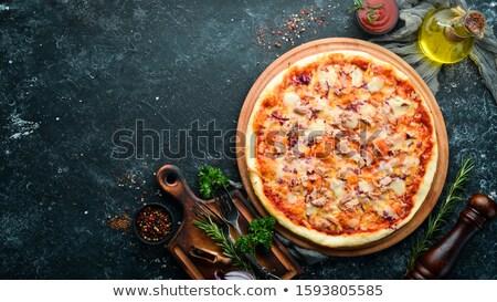 Tuna pizza Stock photo © Digifoodstock