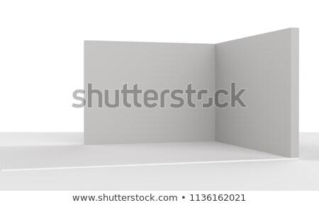 展示 壁 光 デザイン ウィンドウ 背景 ストックフォト © Paha_L