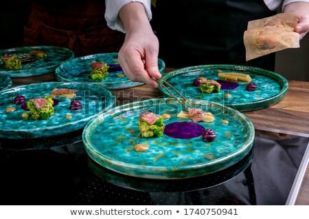 французский повар баннер прибыль на акцию 10 файла Сток-фото © elgusser