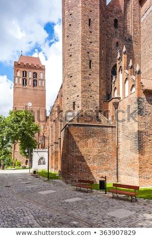 Saint John the Evangelist Cathedral, Kwidzyn, Pomerania, Poland Stock photo © phbcz