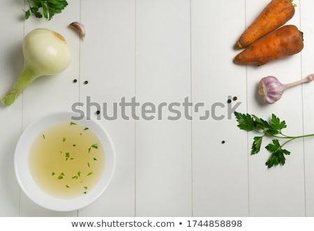 Kenyér aprított petrezselyem vaj Stock fotó © Digifoodstock