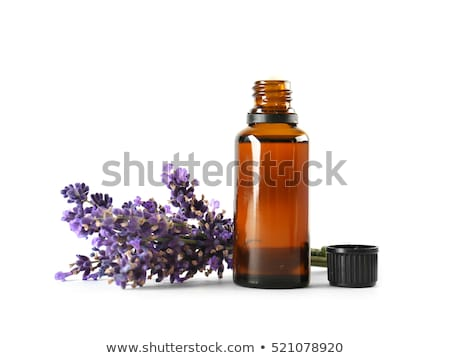 A lavender bottle with medical dropper Stock photo © bluering