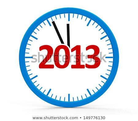 Clock 2013, whole Stock photo © Oakozhan