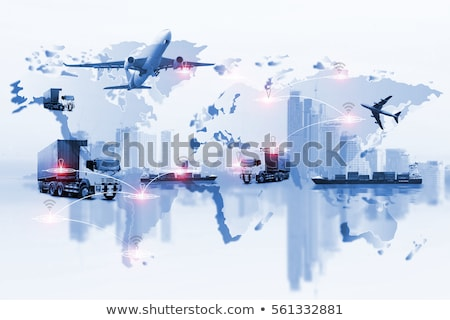 Air, road and rail transport Stock photo © Filata