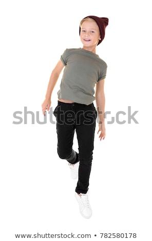 мальчика · случайный · одежды · подростков · Постоянный · джинсов - Сток-фото © lovleah