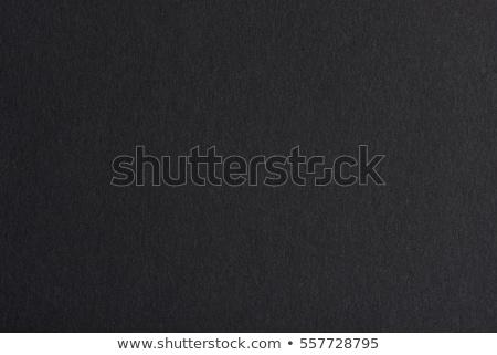 texture of black paper stock photo © oleksandro