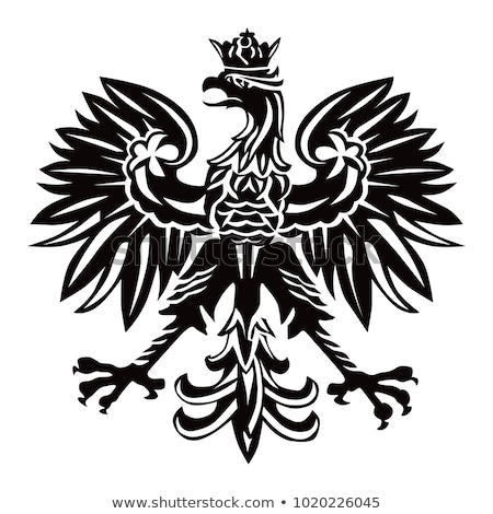 Sas fehér szimbólum Lengyelország hadsereg Stock fotó © FER737NG