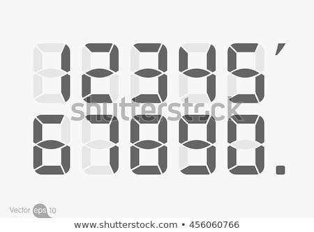 цифровой числа нулевой проверить портфеля Сток-фото © orson