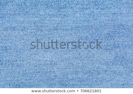 Blauw denim textuur jeans vintage patroon Stockfoto © SArts