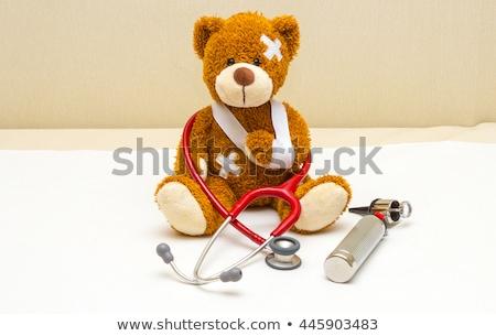 Brisé endommagé médicaux assurance patient Photo stock © Lightsource