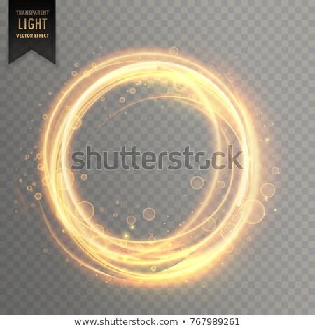 透明な 光 効果 ファッション 抽象的な ストックフォト © SArts