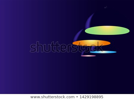 Different color lights on black background Stock photo © bluering