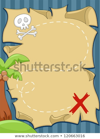 a treasure hunting game pirate theme stock photo © bluering