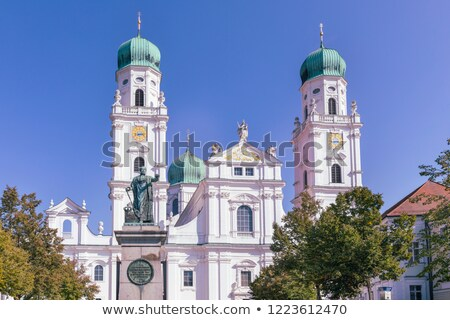 Cathédrale façade église blanche Europe religion Photo stock © manfredxy