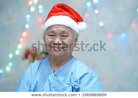 пациент · старший · окна · набор · женщины · сообщение - Сток-фото © toyotoyo