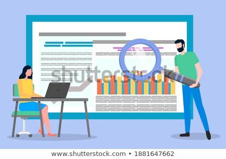 Stock fotó: Vásárlók · ügyfelek · üzlet · nagyobb · csoport · emberek · forma