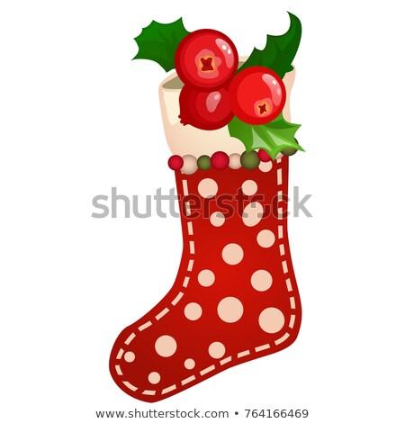Opknoping gekleurd sok bes Stockfoto © Lady-Luck