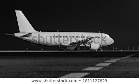 Aéroport pas battant nuit météorologie vent Photo stock © ssuaphoto