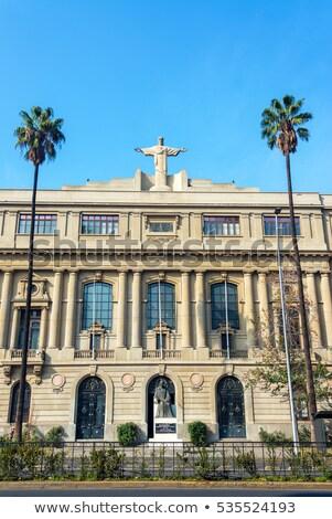 チリ 大学 サンティアゴ クローズアップ 建物 科学 ストックフォト © boggy