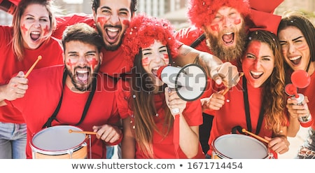 Engeland vlag mensen illustratie man kind Stockfoto © colematt