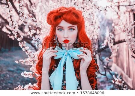 rózsaszín · sakura · virágok · izolált · fehér · tavasz - stock fotó © artjazz