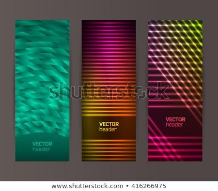 Hotel vertical neón etiqueta calle promoción Foto stock © Anna_leni