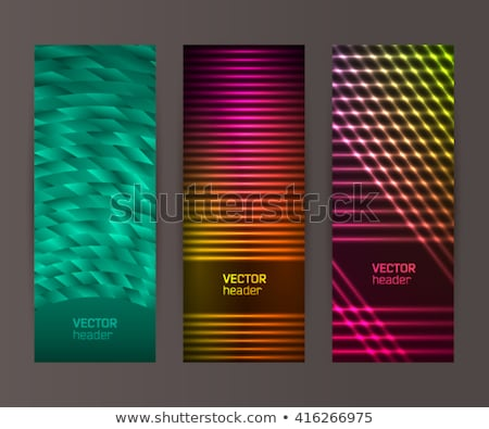 Hotel Vertical Neon Label Stock photo © Anna_leni