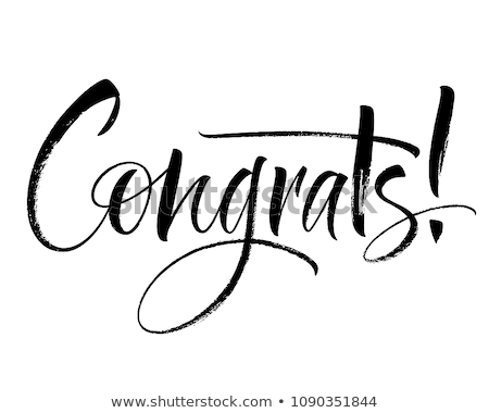 gratulacje · pocztówkę · kartkę · z · życzeniami · szczęśliwy - zdjęcia stock © anna_leni