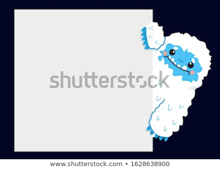 Yeti Snow Monster Stock photo © Lightsource