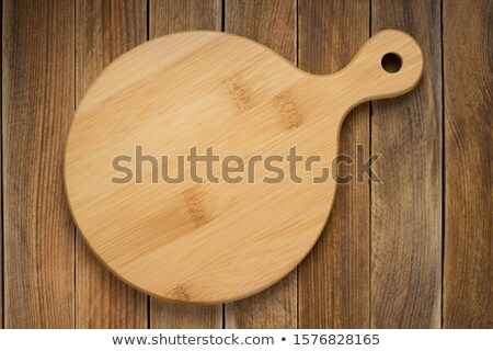 Tray of pizza with meat and vegetables toppings Stock photo © bluering