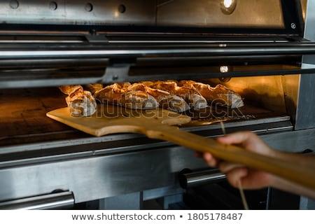 Produzione pane legno forno panetteria Foto d'archivio © antonio_gravante