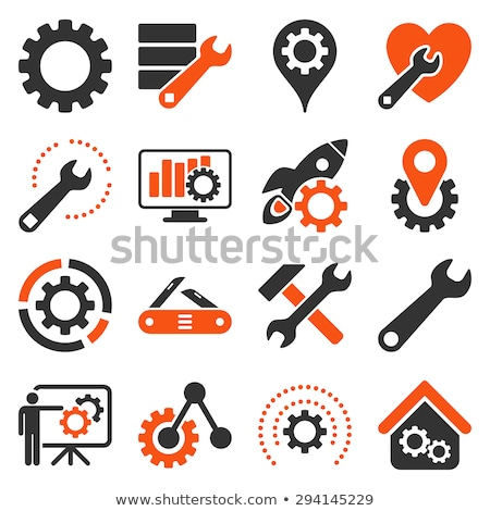 plants tools icon set Stock photo © ayaxmr