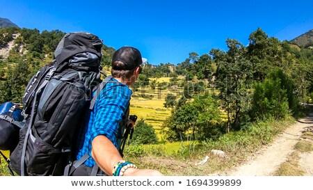 Taking a moment to enjoy the wilderness Stock photo © wildnerdpix